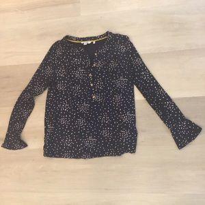 Boden Jersey Knit Top Shirt Blouse Size 8